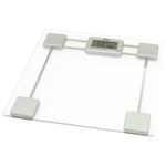 Весы напольные A&D UC-200 прозрачный/белый