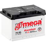 Автомобильный аккумулятор A-mega Premium 6СТ-74-А3 R New 74 А/ч