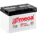 Автомобильный аккумулятор A-mega Ultra Plus 6СТ-77 R 77 А/ч