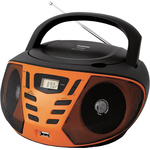 Аудиомагнитола BBK BX193U Black/Orange