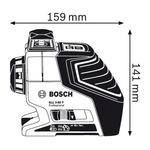 Лазерный нивелир Bosch GLL 3-80 P (060106330A)