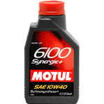 Моторное масло Motul 6100 Synergie + 10W40 1л