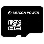 Карта памяти 8GB SDHC-micro Silicon Power SP008GBSTH010V10