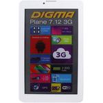 Планшет Digma Plane 7.12 3G 8GB White