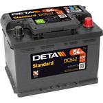 Автомобильный аккумулятор DETA Standart DC542 (54 А·ч)