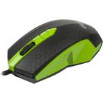 Мышь RITMIX ROM-202 Black/Green USB