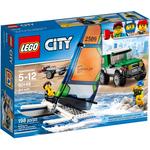 Конструктор LEGO Внедорожник с прицепом для катамарана 60149