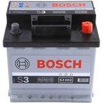 Автомобильный аккумулятор Bosch 0092S30020 (45 А/ч)