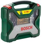 Универсальный набор инструментов Bosch Titanium X-Line 2607019329 70 предметов