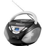 Аудиомагнитола BBK BX108U White/Grey