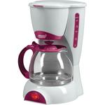 Кофеварка Atlanta ATH-541 белый/красный