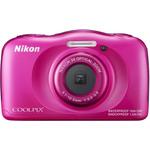 Фотоаппарат Nikon CoolPix W100 розовый (VQA012K001)