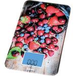 Кухонные весы BBK KS107G черный/красный