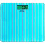 Весы напольные Sinbo SBS 4427 голубой/рисунок