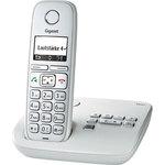 Телефонный аппарат Gigaset стандарта DECT E310 серебристый