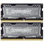 Оперативная память Crucial Ballistix Sport 2x4GB DDR4 SODIMM PC4-19200 [BLS2C4G4S240FSD]