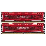 Оперативная память Crucial 2x8Gb DDR4 PC4-19200 2400MHz (BLS2C8G4D240FSE)