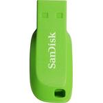 USB Flash SanDisk Cruzer Blade 16GB (зеленый) [SDCZ50C-016G-B35GE]