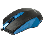 Мышь RITMIX ROM-202 Black/Blue USB