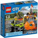 Конструктор LEGO City 60120 Набор для начинающих: Исследователи вулканов