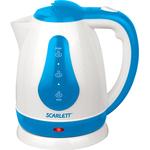 Электрочайник SCARLETT SC-EK18P29 White/Blue