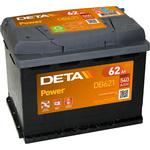 Автомобильный аккумулятор DETA Power DB621 (62 А/ч)