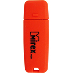 4GB USB Drive Mirex CHROMATIC RED (13600-FMUCRR04)