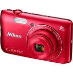 Фотоаппарат Nikon Coolpix A300 (красный)