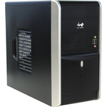 Корпус In Win EMR007 Black/Silver 500W