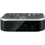 Часы-будильник с радио MYSTERY MCR-66 Silver