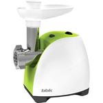 Мясорубка BBK MG1601 белый/светло-зеленый