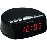 Часы-будильник с радио Supra SA-26FM Black/Red