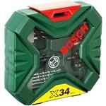 Набор торцевых головок и бит Bosch X-Line Classic 2607010608