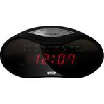 Часы-будильник с радио MYSTERY MCR-33 Black/Red