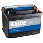 Автомобильный аккумулятор Exide Classic EC542 (50 А/ч)