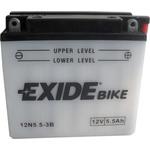 Мотоциклетный аккумулятор Exide Conventional 12N5.5-3B (5.5 А/ч)