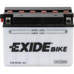 Мотоциклетный аккумулятор Exide Conventional Y50-N18L-A (20 А/ч)