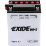 Мотоциклетный аккумулятор Exide EB14L-A2 (14 А/ч)