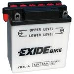 Мотоциклетный аккумулятор Exide Conventional YB3L-A (3 А·ч)