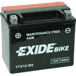 Мотоциклетный аккумулятор Exide Maintennance Free YTX12-BS (10 А/ч)