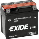 Мотоциклетный аккумулятор Exide Maintennance Free YTX5L-BS (4 А/ч)