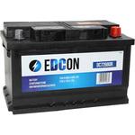 Автомобильный аккумулятор EDCON DC72680R (72 А·ч)