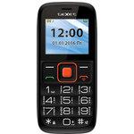 Мобильный телефон TeXet TM-B117 Black/Orange