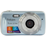Фотоаппарат Rekam iLook S750i (серый металлик)