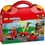 Конструктор LEGO Чемоданчик Пожарная команда 10740
