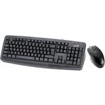 Клавиатура+Mышь Genius KM-100 Black