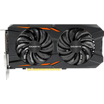 Видеокарта GeForce® Gigabyte GTX1050 Ti Windforce OC (GV-N105TWF2OC-4GD) 4GB