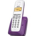 Телефон Dect Gigaset A230 белый/фиолетовый