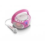 Аудиосистема Lenco SCD-650 розовый