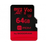 Карта памяти GOODRAM IRDM microSDXC IR-M6BA-0640R11 64GB